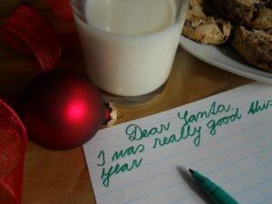 child's wishlist to santa