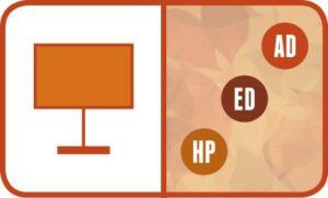 Presentation: AD, ED, HP