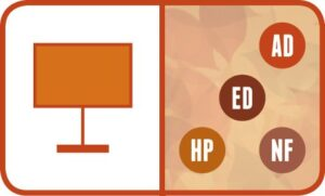 Presentation: AD, ED, HP, NF